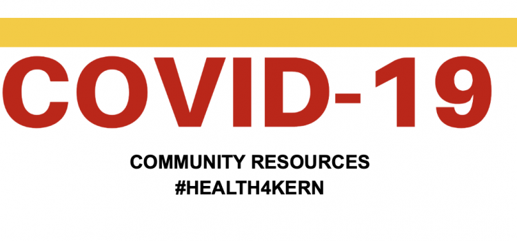 #Health4Kern Launches COVID-19 Resources Guide